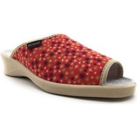 Chaussures Femme Chaussons Fargeot NIMBE Rouge