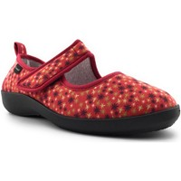 Chaussures Femme Chaussons Fargeot TASMANIE Rouge
