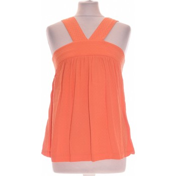 Vêtements Femme Débardeurs / T-shirts sans manche Promod Débardeur  38 - T2 - M Orange