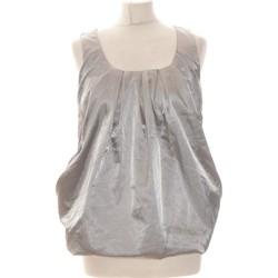 Vêtements Femme Débardeurs / T-shirts sans manche Grain De Malice Débardeur  36 - T1 - S Gris