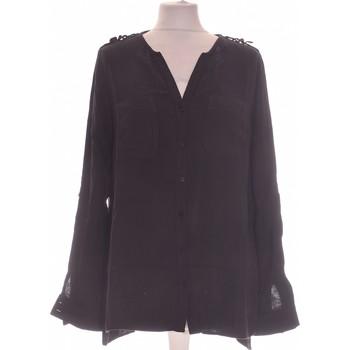 Vêtements Femme Chemises / Chemisiers Atmosphere Chemise  38 - T2 - M Noir