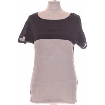 Vêtements Femme Tops / Blouses Camaieu Top Manches Courtes  38 - T2 - M Noir