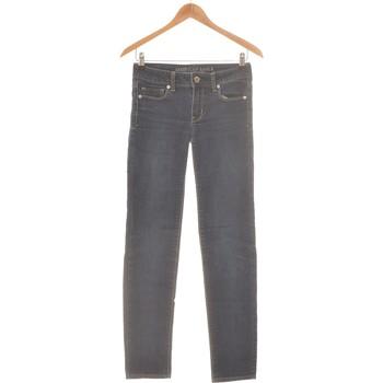 Vêtements Femme Jeans slim American Eagle Outfitters Jean Slim Femme  34 - T0 - Xs Bleu