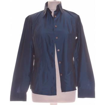 Vêtements Femme Chemises / Chemisiers Sisley Chemise  36 - T1 - S Bleu