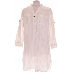 Vêtements Femme Chemises / Chemisiers Zara Chemise  38 - T2 - M Blanc