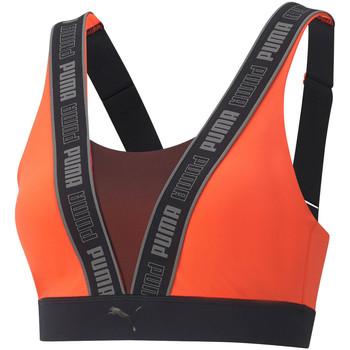 Vêtements Femme Brassières de sport Puma Brassière de sport Orange
