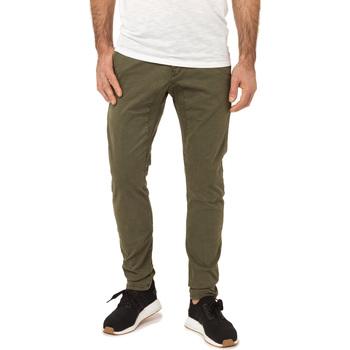 Vêtements Homme Chinos / Carrots Pullin Pantalon  DENING CHINO CEDAR VERT