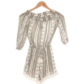 Vêtements Femme Combinaisons / Salopettes Abercrombie Combi-short  34 - T0 - Xs Gris