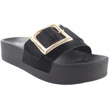 Chaussures Femme Mules Kelara Dame de plage  K12029 noir Noir