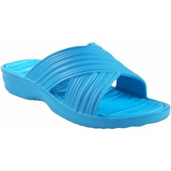 Chaussures Femme Mules Kelara Dame de plage  K02017 Celeste Bleu