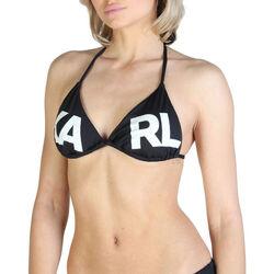 Vêtements Femme Maillots de bain séparables Karl Lagerfeld - kl21wtp05 Noir