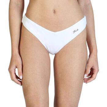 Vêtements Femme Maillots de bain séparables Karl Lagerfeld - kl21wbt05 Blanc