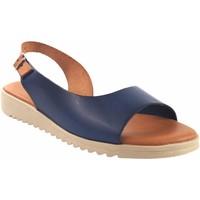Chaussures Femme Sandales et Nu-pieds Eva Frutos 1205 bleu Bleu