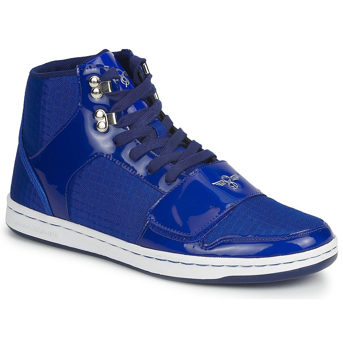 Creative Recreation GS CESARIO Bleu - Livraison Gratuite avec - Chaussures Basket montante