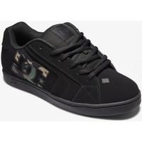 Chaussures Homme Chaussures de Skate DC Shoes NET black camo print Noir