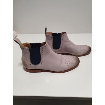 Chaussures Femme Bottines Melvin & Hamilton Boots Melvin et Hamilton Gris