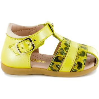 Chaussures Fille Sandales sport Stones and Bones Mema Leopard Yellow Jaune