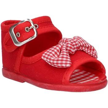 Chaussures Fille Sandales et Nu-pieds Cotton Club CC0004 Rojo