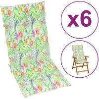 Maison & Déco Galettes de chaise VidaXL Coussin de chaise de jardin 120 x 50 x 4 cm Multicolore