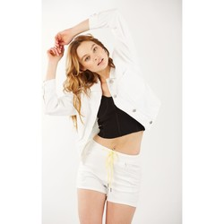 Vêtements Femme Blousons Toxik3 Blouson - Lu Blanc