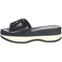 Chaussures Femme Mules Repo 62114-E1 Noir/Blanc