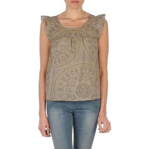 Vêtements Femme Débardeurs / T-shirts sans manche Bensimon SADIE Taupe