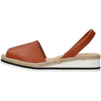Chaussures Femme Sandales et Nu-pieds Ska 21CORFUNM MARRON
