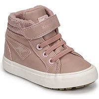Chaussures Fille Baskets montantes Kangaroos KAVU III Rose