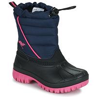 Chaussures Fille Bottes de neige Kangaroos K-BEN Bleu / Rose