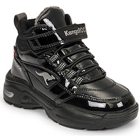 Chaussures Fille Baskets montantes Kangaroos KC-ICY EV RTX Noir