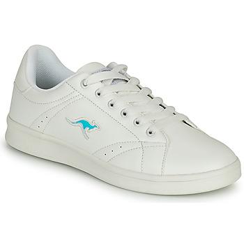 Chaussures Femme Baskets basses Kangaroos K-TEN II Blanc