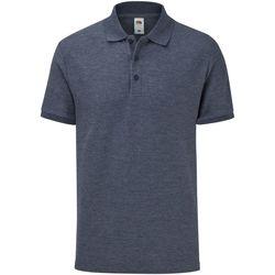 Vêtements Homme Polos manches courtes Fruit Of The Loom 63042 Bleu marine