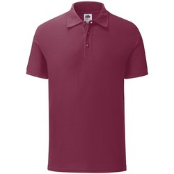 Vêtements Homme Polos manches courtes Fruit Of The Loom 63042 Bordeaux