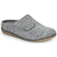 Chaussures Femme Chaussons Dream in Green PODOUDOU Gris