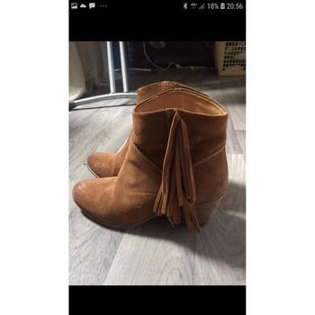 Chaussures Femme Bottines Catarina Martins Boots Catarina Martins Marron
