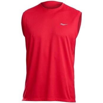 Vêtements Homme Débardeurs / T-shirts sans manche Saucony SAM800216 Rouge