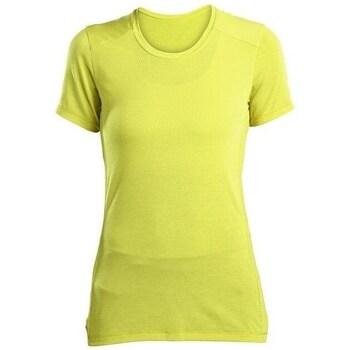 Vêtements Femme T-shirts manches courtes Saucony SAW800023 Jaune