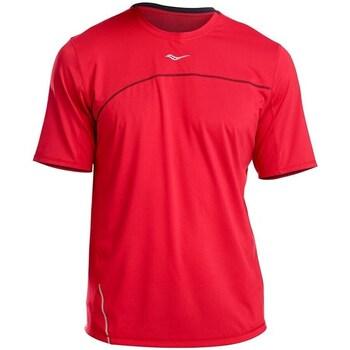 Vêtements Homme T-shirts manches courtes Saucony SAM800214 Rouge