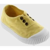 Chaussures Enfant Baskets basses Victoria Inglesa Elastico Maiz Jaune