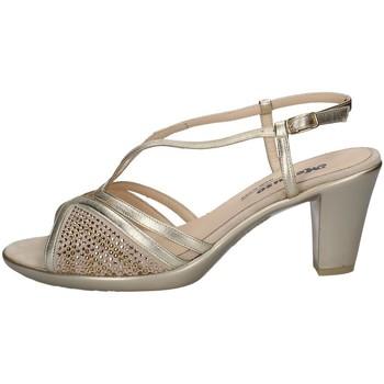 Chaussures Femme Sandales et Nu-pieds Melluso HR50102 PLATINE