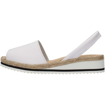 Chaussures Femme Sandales et Nu-pieds Ska 21CORFUNM BLANC