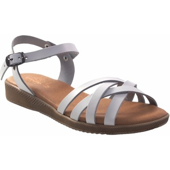 Chaussures Femme Sandales et Nu-pieds Duendy femme  3265 blanc Blanc