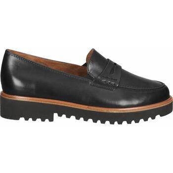 Chaussures Femme Mocassins Paul Green Babouche Schwarz