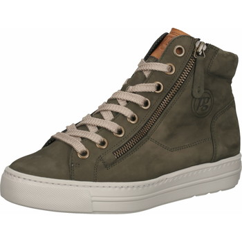 Chaussures Femme Baskets montantes Paul Green Sneaker Oliv/Braun