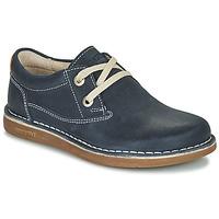 Chaussures Enfant Derbies Birkenstock MEMPHIS KIDS Bleu Foncé