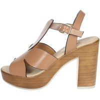 Chaussures Femme Lauren Ralph Lau Repo 56247-E1 Marron cuir