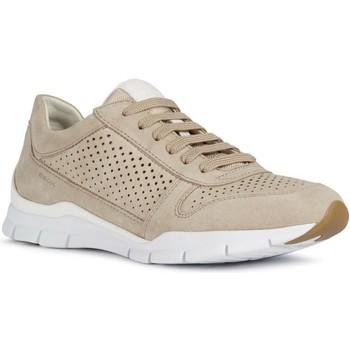 Chaussures Femme Baskets basses Geox Baskets D Sukie Beige