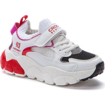 Chaussures Homme Baskets basses Crosby Baskets décontractées blanches Blanc