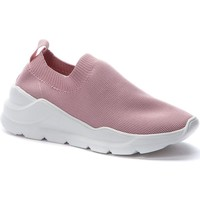 Chaussures Femme Slip ons Crosby Baskets décontractées roses Rose