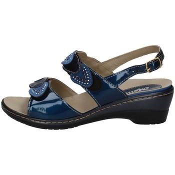 Chaussures Femme Sandales et Nu-pieds Melluso H02965 BLEU